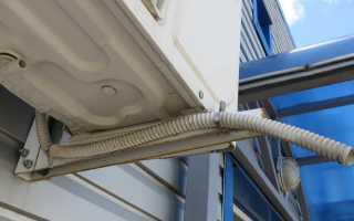 Стучит внутренний блок кондиционера в выключенном состоянии при сильном ветре
