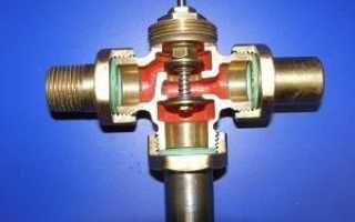 Трехходовой клапан для отопления: устройство, разновидности, особенности