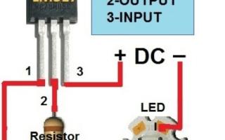 Стабилизатор напряжения на 12 вольт: схема и разновидности, выбор для светодиодов