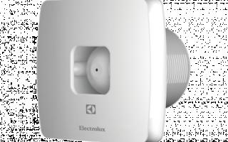 Вентилятор для вытяжки ванной комнаты с таймером