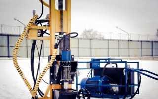 Буровые установки для бурения скважин на воду: виды, принцип работы, устройство и цена