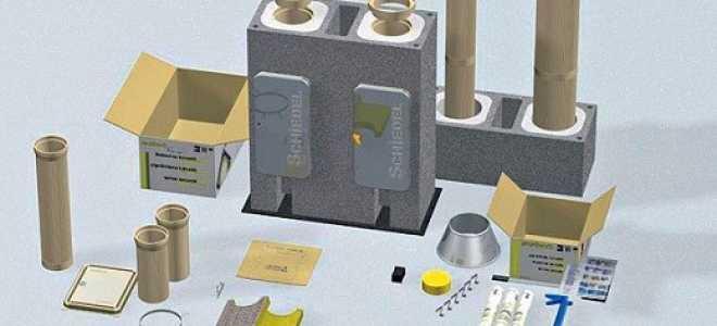 Обзор систем дымоходов: HELUZ, Scancore, Schiedel