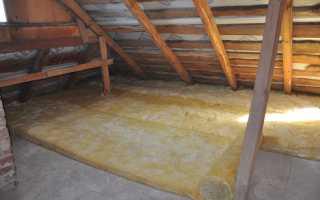 Утепление чердака в доме с холодной крышей: чем и как теплоизолировать