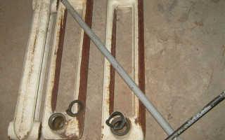 Как разобрать чугунную батарею: предварительные работы, демонтаж и установка