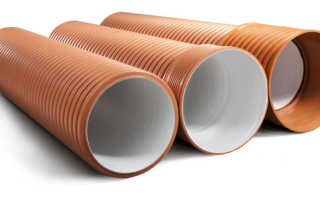 Гофрированная канализационная труба: область применения, размеры, особенности монтажа и цена