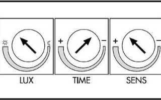 Как настроить датчик движения для освещения: угол установки и чувствительность