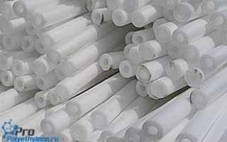 Жгут из вспененного полиэтилена: размеры, свойства, область применения