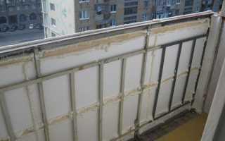 Как утеплить стены и пол балкона изнутри своими руками в панельном доме, фото и видео