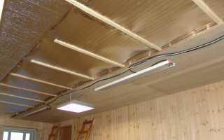Утепление потолка в частном доме своими руками изнутри: материалы и монтаж