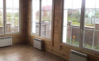 Отопление в деревянном доме: газовые баллоны