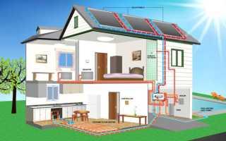 Отопление двухэтажного дома: однотрубная и двухтрубная схемы