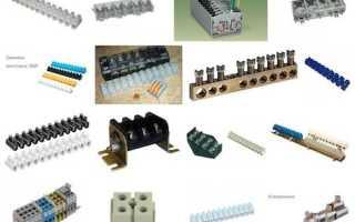Электрическая колодка: распределительные, контактные, разновидности по материалу