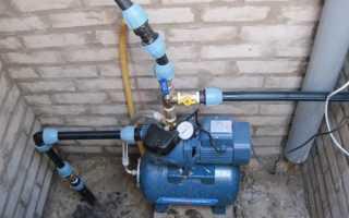 Насосная станция для частного дома: установка и схема подключения к скважине