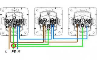 Последовательное подключение розеток: схема, смешанное соединение