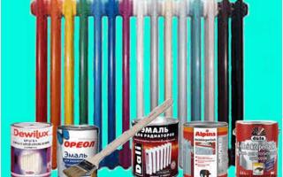 Как правильно покрасить батареи и трубы отопления, какую краску выбрать и её расход