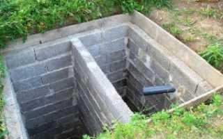 Как сделать выгребную яму: проектирование, расчеты, этапы монтажа и стоимость работ