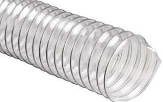 Гофра для вытяжки алюминиевая: размеры и диаметры