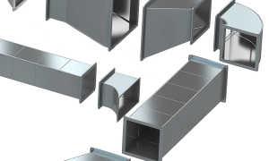 Вентиляция из оцинкованной стали: короба, трубы, воздуховоды и их изготовление