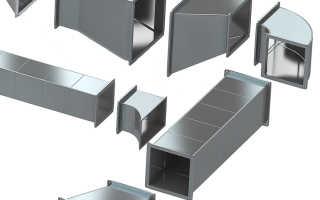 Вентиляционные трубы из оцинкованной стали: воздуховоды, вентканалы