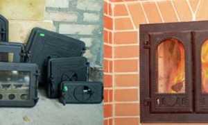 Печные дверцы: разновидности, главное назначение, сборка своими руками