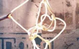 Светильник из светодиодной ленты своими руками: люстра, лампа, контроллер и блок питания