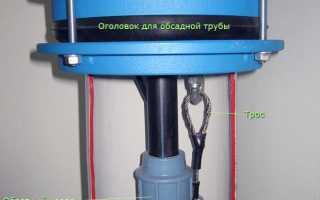 Схема установки погружного насоса в скважину: как опустить и закрепить оборудование