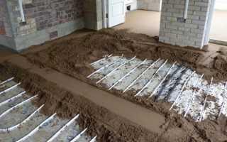 Тёплый пол: плюсы и минусы, подготовка схемы, укладка, стяжка и монтаж