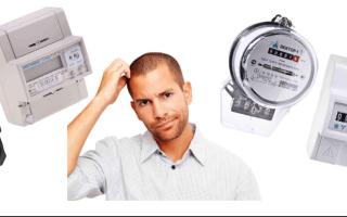 Виды счетчиков электроэнергии: индукционные, электронные, одно- и многотарифные