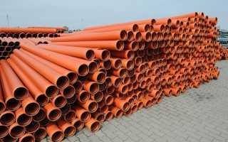 Трубы для наружной канализации: назначение, технические характеристики, размеры и цена