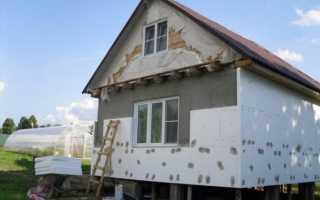 Выбор и монтаж материалов для наружного утепления стен