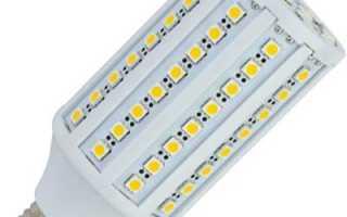 Светодиодная лампа G9, E14 и E27: большой мощности, для уличного освещения