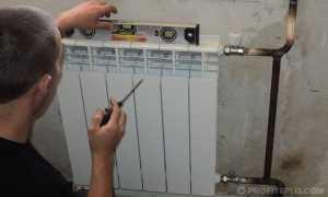 Крепление радиатора: свод норм и правил, кронштейны для установки, монтаж
