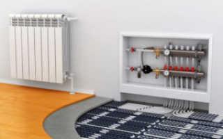 Отопление пола в квартире и доме: схемы, трубы, конвекторы