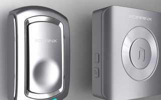 Беспроводной звонок на дверь в квартиру или частный дом: антивандальный и уличный