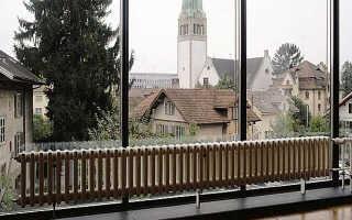 Низкие радиаторы отопления для панорамных окон: разновидности и их установка