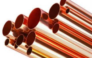 Медные трубы для водопровода: технические характеристики, монтаж, плюсы и минусы