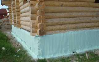 Как утеплить фундамент деревянного дома снаружи своими руками: методы работ