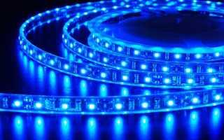 Как подключить светодиодную ленту своими руками: блок питания, кабель, схема