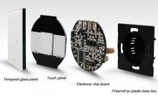 Сенсорный выключатель света: принцип действия и устройство, классификация