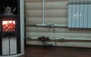 Печное отопление для дома: с помощью воздушной системы, водяного контура