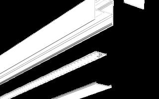Светодиодный светильник: потолочные, линейные, накладные и встраиваемые