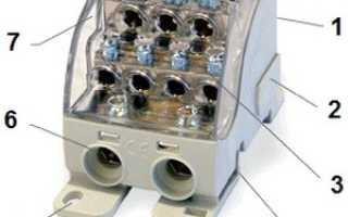 Кросс-модуль на DIN-рейку 3 фазы: назначение и области применения, крепление и параметры