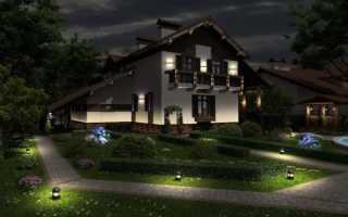 Уличные светильники для загородного дома: примеры расчетов наружного освещения