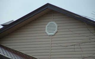 Варианты устройства вентиляции для холодного и утепленного чердака частного дома