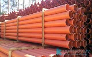 Канализационная труба диаметром 300 мм: назначение, материал изготовления и цена