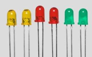 Принцип работы светодиода: белый, желтый, кластер, из чего сделан и конструкция