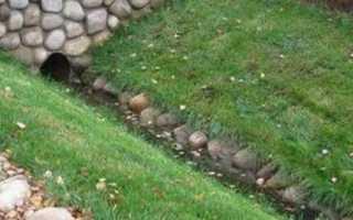 Водоотводная канава: назначение, нормативные требования, устройство и способы укрепления