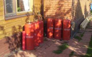 Отопления частного дома и гаража котлом на пропане своими руками