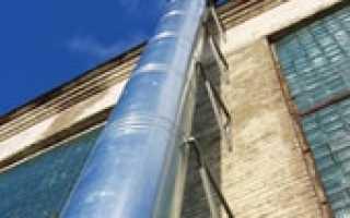 Крепление вентиляционных воздуховодов к стене