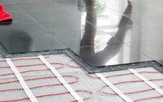 Укладка плитки на теплый пол: этапы работ, подготовка клея, процесс